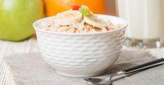 Recette de Porridge gourmand pour petit déjeuner minceur et détox. Facile et rapide à réaliser, goûteuse et diététique.