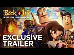 From producer Guillermo del Toro and director Jorge Gutierrez comes an animated comedy with a unique visual style. THE BOOK OF LIFE encourages us to celebrate the past while looking forward to the future. #BookOfLife
