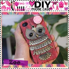 DIY Phone Case by the-tip-girls-of-narnia, via Polyvore