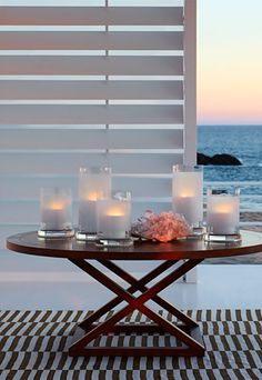 Ralph Lauren - love this style of table