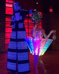 Amazing led light costume, #ledcostume #leddancer #entertainmetn #lightshow #party #event #nightclub Led Light Costume, Led Costume, Costumes, Laser Show, Stage Show, Nightclub, Light Up, Dj, Dancer