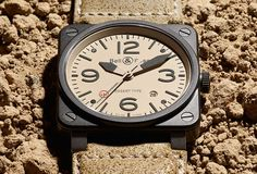 Bell & Ross BR 03-92 Desert Type. The latest addition to their aviation-inspired line.