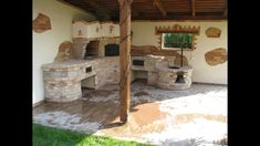 Barbecue, Outside Fireplace, Brick Bbq, Four A Pizza, Bbq Kitchen, Hearth, Homesteading, Garden Design, Living Spaces