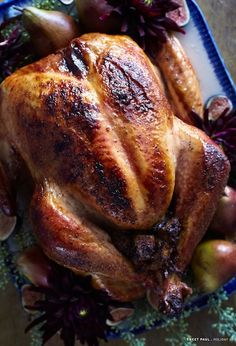 maple and apricot roast turkey | 10 best turkey recipes | camille styles