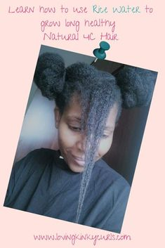Hair Care: Grow Long Natural Hair Using Rice Water. Natural Hair Growth Remedies, Natural Hair Regimen, Natural Hair Care Tips, How To Grow Natural Hair, Natural Hair Styles, Natural Makeup, Ayurvedic Hair Care, 4c Hair, Hair Growth Oil