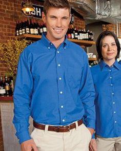 #Men's long-sleeve button-up #shirt