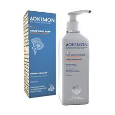 dokimon_igro_sapouni_xerion_kalentoula_meli Liquid Hand Soap, Shampoo, Hands, Bottle, Flask