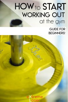 How To start Working Out At The Gym | Guide For Beginners . If you want to lose weight fast and start going to the gym here's complete guide.