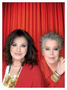 Haris Alexiou et Dimitra Galani à l'Olympia le 28 Octobre 2012... My 2 favorite singers.  I've heard both sing in Athens