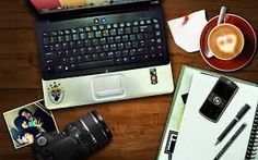 Image result for laptop coffee