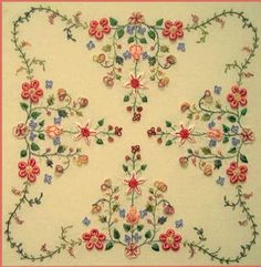 free needlework patterns   DESIGN EMBROIDERY FREE HAND PRINT « EMBROIDERY & ORIGAMI