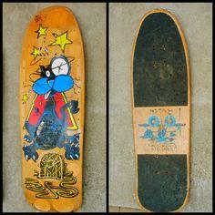 Deck of the Day   SMA   Natas Kaupas #vintage #skateboard #vintageskateboard #sk8face #sma #nataskaupas