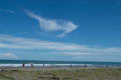 Una playa del Caribe. Vizcaya.