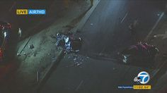 5 injured in La Habra Heights violent head-on crash