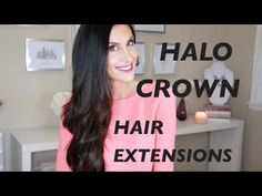 ▶ How to Make and Wear Halo Extensions - DoctoredLocks.com - YouTube