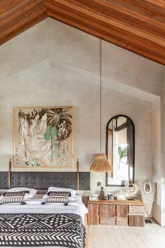 Home Design, Interior Design, Home Bedroom, Bedroom Decor, Bali Bedroom, Bedrooms, Interior Architecture, Interior And Exterior, Bali Style Home