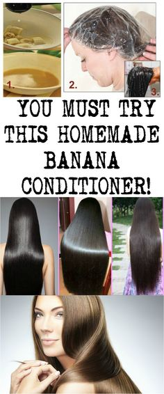 YOU MUST TRY THIS HOMEMADE BANANA CONDITIONER!