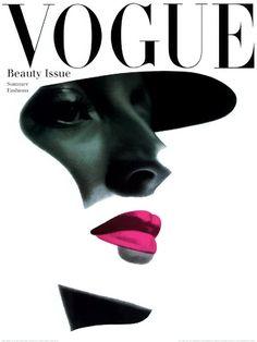 Vintage Vogue Cover 1945