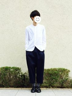 kitsuneシャツ/ブラウス「MHL. BASIC POPLIN」Styling looks