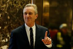 Trump picks vaccine skeptic Robert Kennedy to oversee presidential review on vaccines