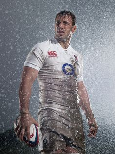Chris Robshaw~Lucozade Sport Six Nations Rugby by DIVER AND AGUILAR , via Behance