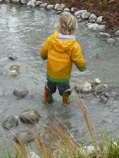 Playing in all weathers - Nature Play Park