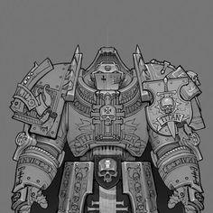 Warhammer 40k Memes, Warhammer Fantasy, Warhammer 40000, Grey Knights, Tyranids, Knight Art, Armours, Starcraft, Space Marine