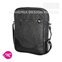 Tweed backpack  /#tweed #leatherette #backpack #laptopcase ray #black #original #accessories #bag Bohemia Design, Rucksack Backpack, Laptop Case, Tweed, Backpacks, Stuff To Buy, Bags, Accessories, Handbags