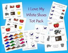 FREE Pete the Cat activities for  - I Love My White Shoes. A Spanish version is also available. :-)