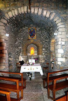 Chapelle Saint André de Larny. Pollionnay. Rhône-Alpes