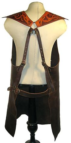weight of leather for aprons