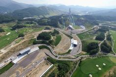 Landscape #architecture and urban design firm SWA Group planned the #PyeongChang 2018 Winter #Olympics sports park. The facilities include the ski jump stadium, where the Opening and Closing ceremonies will occur, as well as the cross country courses and Biathlon stadium. This will be South Korea's first time hosting the Winter Olympic Games.