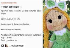 Cute and Amazing Amigurumi Doll Crochet Pattern Ideas - Page 35 of 56 Amigurumi Doll, Amigurumi Patterns, Doll Patterns, Crochet Patterns, Pattern Ideas, Knit Dog Sweater, Dog Sweaters, Crochet Birds, Crochet Dolls