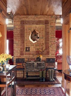 rustic entry by Johnson Berman