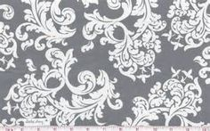 gray floral fabric - Bing images