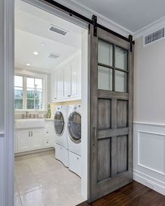 """f29c7bf8a5e Home Bunch on Instagram: """"This entire #California #home, designed by  @brandonarchitects, is full of #inspiring ideas, like this #laundryroom  with #glazed ..."""