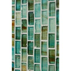 Bathroom Tile Backsplash Aqua Gl By Collections Inc This Would Go Well With The New Color Pallet I Ve Chosen For My