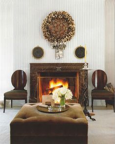 The fantastic ambiance created by one of the best interior designers. Decor, Furniture, Room, Interior, Family Room, Best Interior, Home Decor, Holiday Decor, Fireplace Decor