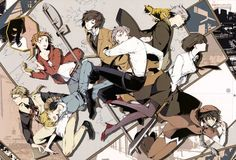 Bungou Stray Dogs--never seen before, should i?