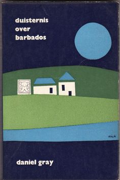 Daniel Grey - Duisternis over Barbados; cover by Dick Bruna