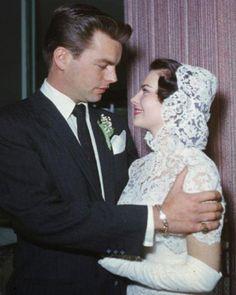 Natalie Wood & Robert Wagner, Hollywood 1957