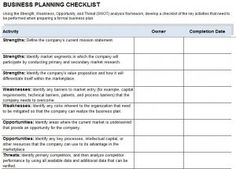 Checklist Templates Word Custom 12 Business Continuity Plan Templates  Word Excel & Pdf Templates .