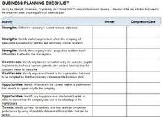 Church Event Planning Checklist Template   Announcement ...