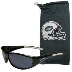 New York Jets Sunglass and Bag Set