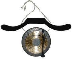 """WUHAN WUPBHNGR-007-10 Wagon Black Pine Hanger Style with 10-Inch Chau Gong by WUHAN. $69.12. Wagon Black Pine Hanger Style With 10"""" Chau Gong"""