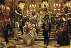 Attend a Masquerade Ball. I legitimate one. Huge dresses, huge hair, huge staircase....need I go on?