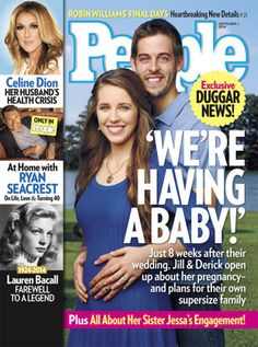 '19 Kids and Counting' Star Jill Duggar Is Pregnant - Yahoo I'M SO EXCITED! :) <3