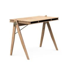 Field Desk is a flexible home office desk, designed for occupying minimal space while allowing for storing your office essentials. The chair is made of solid bamboo and is a result of the designers' ambitions.