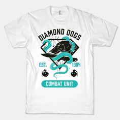Diamond Dogs Combat Unit | T-Shirts, Tank Tops, Sweatshirts and Hoodies | HUMAN