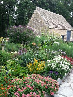 greenfield village cottage garden